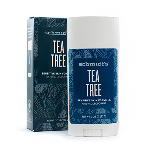 Tea Tree Sensitive Skin Stick, Schmidt's Deodorant