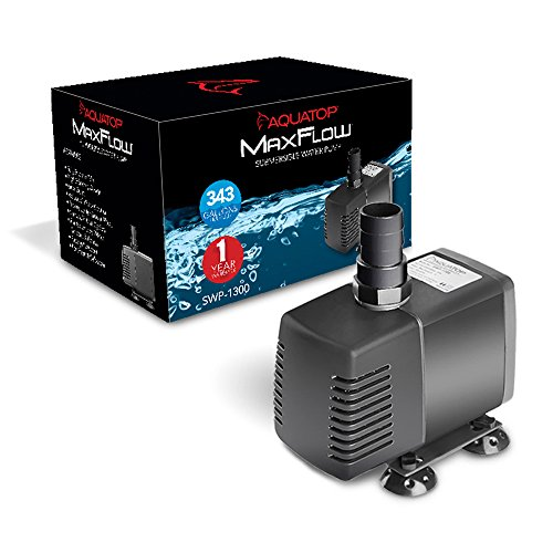 Amazon.com : AquaTop SWP-1300 Aquarium Submersible Pump : Aquarium Water Pumps : Pet Supplies