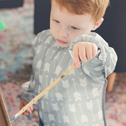 Bumkins Art Smock, Waterproof Long-Sleeved Smock, Arrow (3-5 Years) by Bumkins (Image #4)