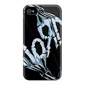High Quality Cell-phone Hard Covers For Iphone 6 (poB18514hpbu) Support Personal Customs High-definition Korn Throwing Signs Image
