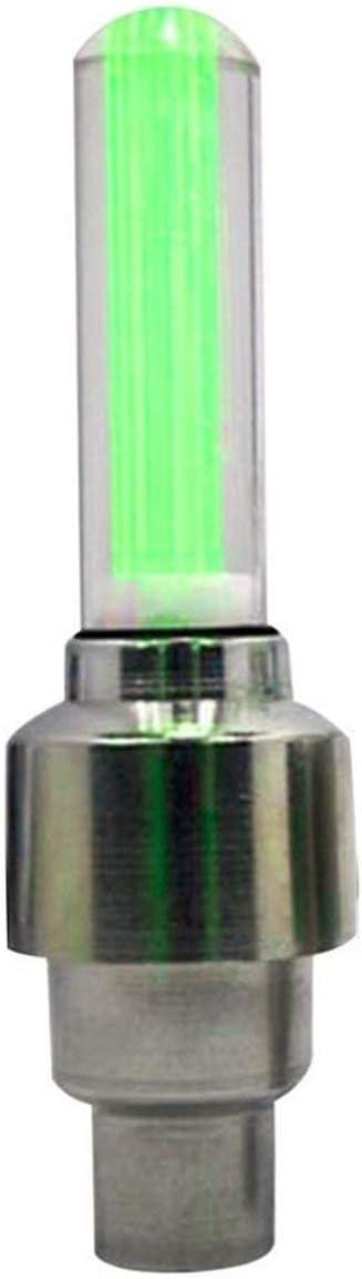 rot Sunnyflowk 1 ST/ÜCKE LED Super Helle Fahrrad Reifen Rad Ventilkappe Licht LED Reifen Rad Ventilkappen Radspeichen Licht