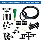 Trust basket Drip Irrigation Kit for 30 Plants