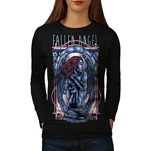 Naked Fallen Angel Women NEW M Long Sleeve T-shirt | (Naked Female Pirates)