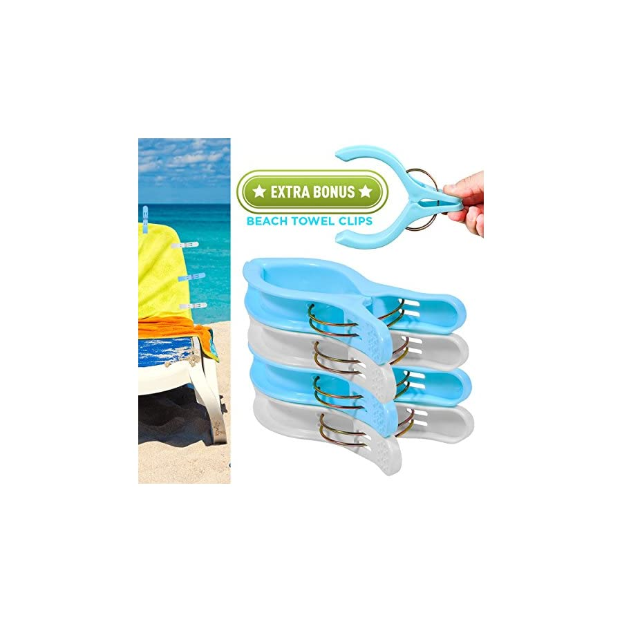 Cruise Luggage Tags Tags For Traveling Durable PVC e Tag Holders Bounce Beach Towel Clips (Clear 8pack)