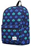 TRENDYMAX Cute Backpack for School | 16''x12''x6'' | Holds 15.4-inch Laptop | Pixels