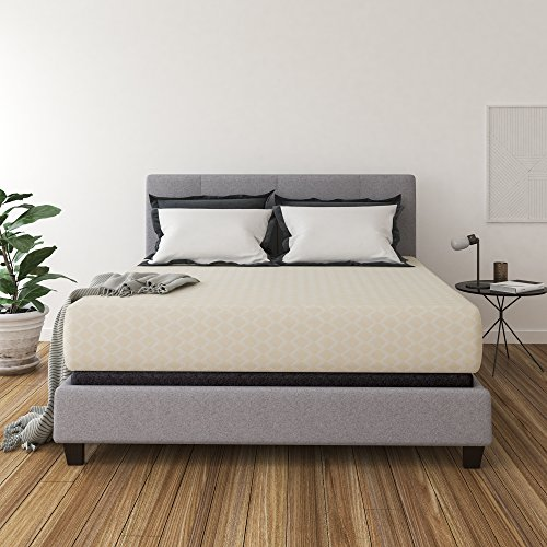 Ashley Furniture Signature Design - 12 Inch Chime Express Memory Foam Mattress - Bed in a Box - King - Firm Comfort Level - White (Covers Replacement Cushion Furniture Ashley)