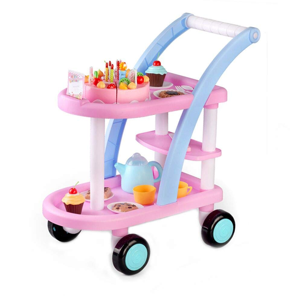 Kids Toy, Yikey Children's Gifts Birthday Cake Shopping Cart Package Pretend Toys