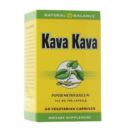 Natural Balance Kava Kava Root 450 mg, Veggie Caps 60 ea