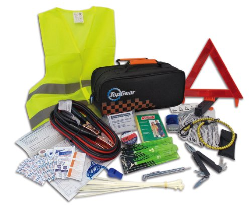 - Top Gear Premium Roadside Assistance Kit (66-piece)