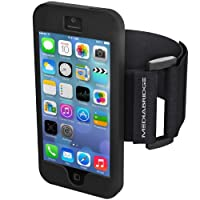 Armband for iPhone 5 / iPhone 5S (Black) - Model AB1 by Mediabridge (Part# AB1-I5-BLK )