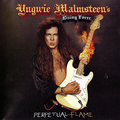 Original album cover of Perpetual Flame by Yngwie Malmsteen