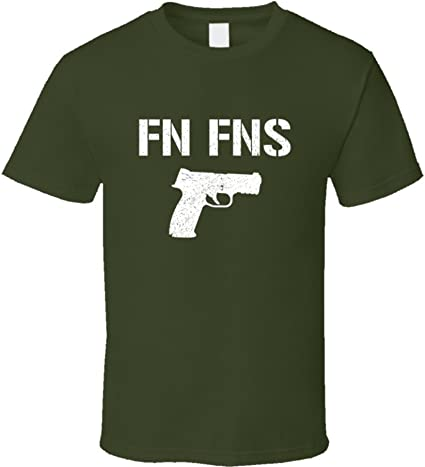Fn Fns - Camiseta de Manga Corta, diseño Militar, Color Verde ...