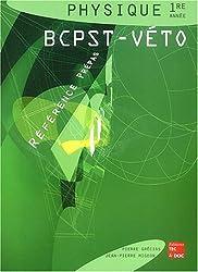 Physique 1e année BCPST-Véto