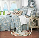 C&F Home Natural Shells Quilt - Twin (66x86) - Coastal Theme