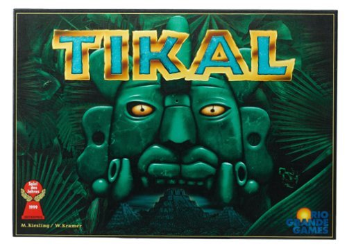 Tikal Board Game by Rio Grande Games (Tikal Board Game)