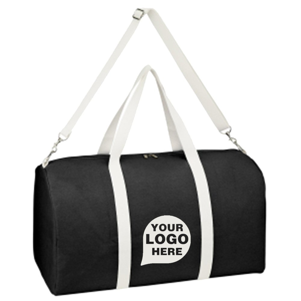 Biggie Cotton Duffel Bag - 20 Quantity - $19.09 Each - PROMOTIONAL PRODUCT / BULK / BRANDED with YOUR LOGO / CUSTOMIZED