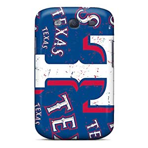 Qan682FVvx Obli-qi Awesome Case Cover Compatible With Galaxy S3 - Texas Rangers
