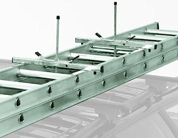 Abru - Sujeciones para enganchar una escalera a la baca del coche: Amazon.es: Bricolaje y herramientas