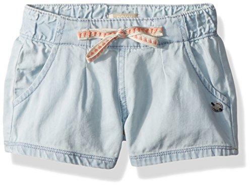 Roxy Little Away Place - Pantalón Corto para niña, Azul Claro, 3