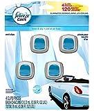 Febreze Car Vent Clips 4-pack Assorted Scents (Linen & Sky)