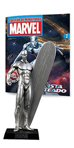 Marvel Figurines. Surfista Prateado