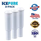x7 coffee machine - 3 Pack IcePure CMF002 Compatible With Jura Claris White Coffee Water Filter,(NOT Jura Claris Pro,NOT for Flavia Coffee Machines)