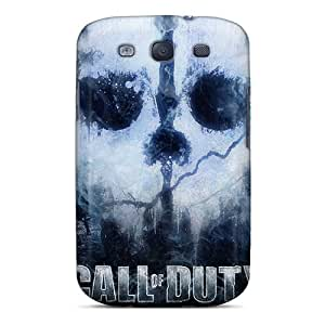 Protective Tpu Case With Fashion Design For Galaxy S3 (call Of Duty Ghosts)