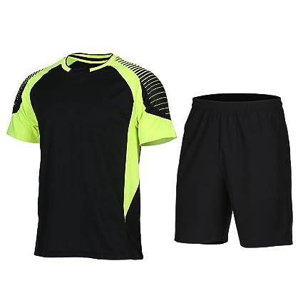 Hombres Soccer Jerseys Football Shirt Kit Skim Suit Juegos ...