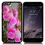 New Apple iPhone 6 s Plus 5.5-inch CocoZ? Case Beautiful roses flowers designs PC (Black PC & Rose Flowers 20)