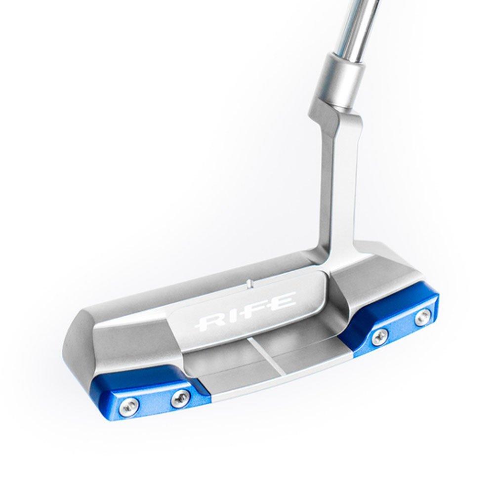 Rife Switchbackネックパター2018左1つ – ブルー重量キット35 B07BVV7W7M