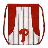 Rico Industries, Inc. Philadelphia Phillies Pinstripe Cinch Bag Drawstring Backpack Bag Decal Emblem Baseball