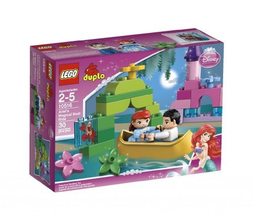 Toy / Game Lego Duplo Princess Ariel Magical Boat Ride 10516 - Recreate Iconic Scenes From Disney Movie by 4KIDS