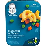 Gerber Graduates Lil' Entrees Macaroni & Cheese with Seasoned Peas & Carrots, 6.6 Ounce