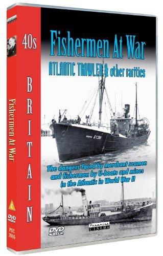 40s Britain - Fishermen at War - Atlantic Trawler [DVD]