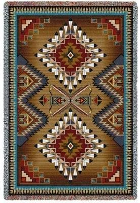 "Pure Country Weavers ""Brazos Blanket"" Tapestry Throw, Ext..."