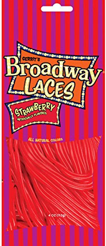 Gerrit's Broadway Laces - Strawberry 4oz. ( One Bag )