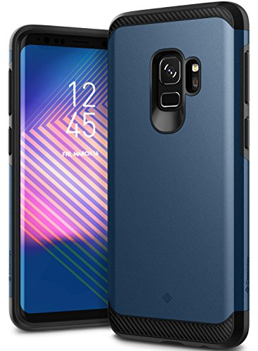 Galaxy S9 Case, Caseology [Legion Series] Slim Heavy Duty Protection Dual Layer Armor Cover for Samsung Galaxy S9 (2018) – Midnight Blue