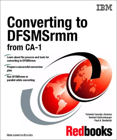 Converting to Dfsmsrmm from Ca-1
