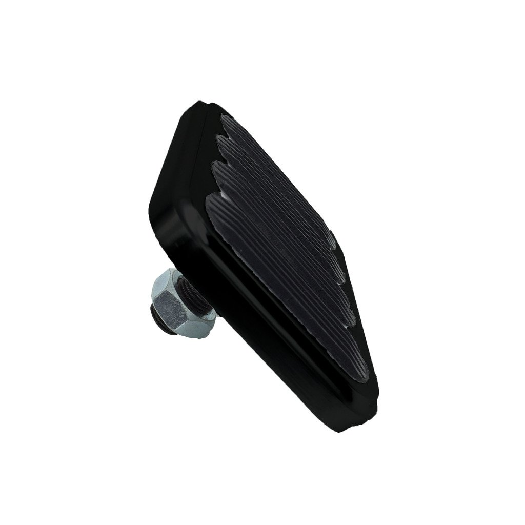 Shengyu XL Series Billet Aluminum Brake Pad with Rubber Black