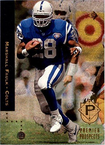 Rookie Foil Card - 1994 SP #3 Marshall Faulk RC FOIL Rookie Card - NM-MT