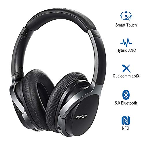 Edifier W860NB Wireless Active Noise Cancelling Headphones with Microphone