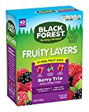 Black Forest Fruit Snacks Fruity Layers, Berry Trio, 0.8 Ounce Bag (Pack of 40)