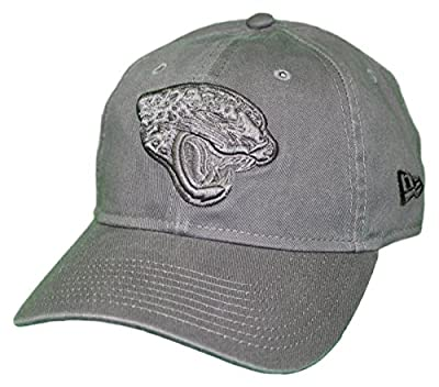 New Era Jacksonville Jaguars NFL 9Twenty Classic Tonal Adjustable Graphite Hat by New Era