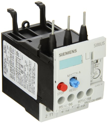 Siemens 3RU11 26-4BB0 Thermal Overload Relay, For Mounting Onto Contactor, Size S0, 14-20A Setting Range by Siemens (Image #1)