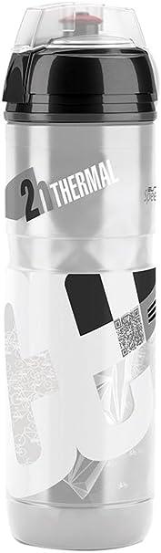 Elite Iceberg - Bidón de Ciclismo, Color Blanco, 650 ml: Amazon.es ...