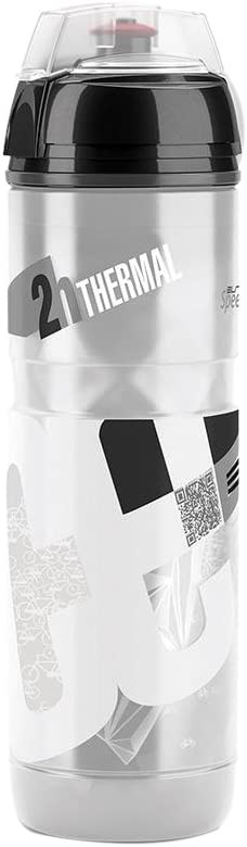 Elite Iceberg - Bidón de Ciclismo, Color Blanco, 650 ml: Amazon.es ...