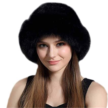 755c3bf8aaf BEANIE HAT Womens Knitted Cap Bobble Pom Poms Winter Warm Earmuffs  Thickening New Soft Acrylic Winter