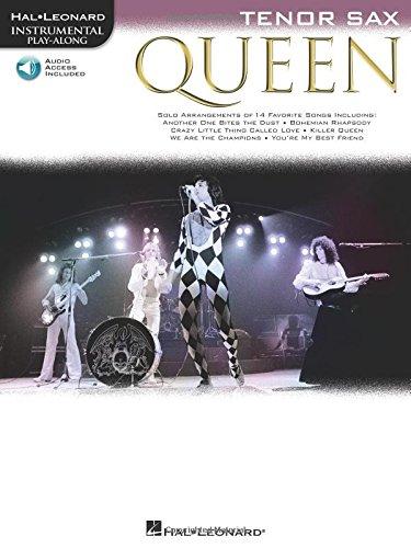 Queen Greatest Hits Play-Along Tenor Sax Tenorsaxophon Noten mit Download Code