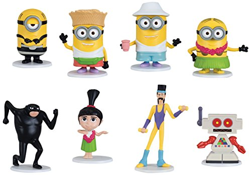Despicable Me Characters Costumes (Despicable Me Surprise Pack 8 Figure Set)