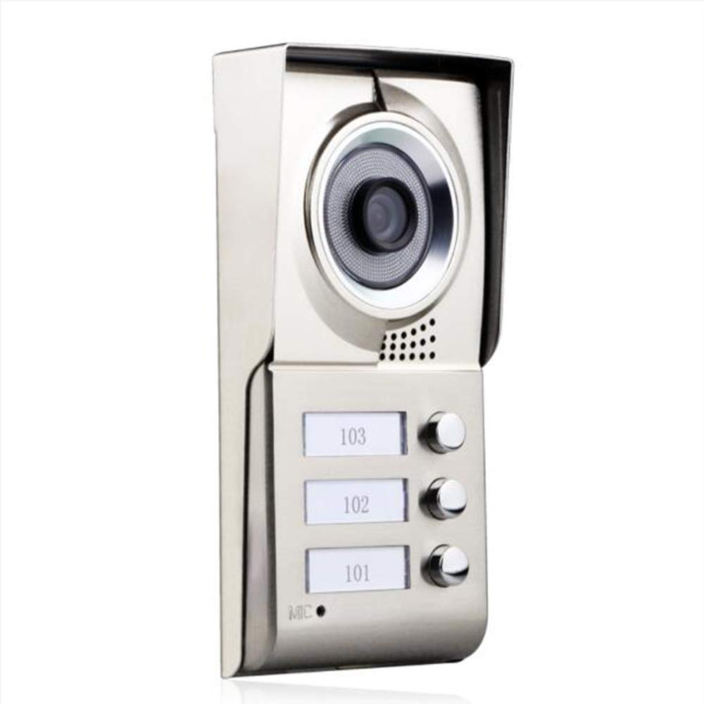 TONGTONG Video Doorbell Smart 720P HD Security Camera Doorbell Batterien Support 2-Way Talk Wide Angle PIR Motion Detection Night Vision Und App Control